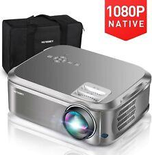"Neues AngebotHuremer Native 1080p Projektor, 6500 Lumen Full HD Video Projektor mit 200""..."