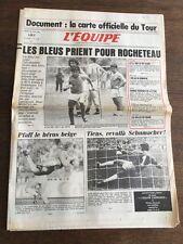 Journal l'équipe - 24 juin 1986 - 41 eme année - n 12480