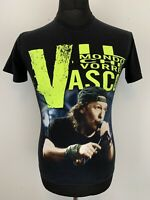 IL Mondo Che Vorrei Vasco 2008 Concert Gig Black T-Shirt Tee S VGC