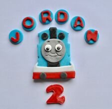 Thomas The Tank Cake Topper Edible Personalised Name Icing Birthday unofficial