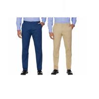 NEW Izod Men's Sportflex Stretch Waistband Straight Leg Chino Pants Variety #167