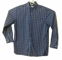 Southern Tide Mens Skipjack Size Large Blue Long Sleeve Button Down Shirt