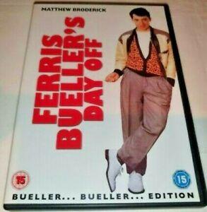 Ferris Bueller's Day Off DVD Region Code 2