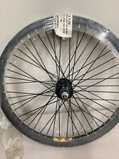 "Bmx 20"" Rear Wheel 48 Spokes 3/8 Axle Weinmann Zac 30 Black"