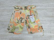 NEW Da-Nang Women's Bermuda Forest Animal Camouflage SKG621 Size SMALL