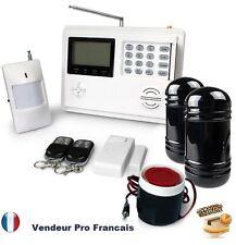 Alarme Maison Sans Fil Téléphonique GSM/PSTN Temporisation Cellule Infrarouge