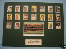 New York Giants led by Willie Mays are the 1954 World Series Champions