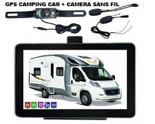 GPS CAMPING CAR + CAMERA DE RECUL 2017 NEUF EUROPE + MAROC