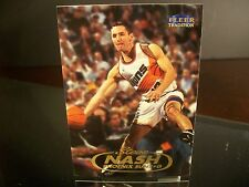 Steve Nash Fleer Tradition 1998 Card #121 Phoenix Suns NBA Basketball