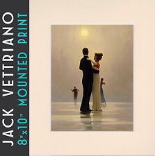 "Dance Me to the End of Love - Jack Vettriano Mounted Art Print 10"" x 8"" 2018©"