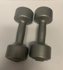 Set of 2 Pro Sport Dumbbells 15kg 3.3 lb. Grey