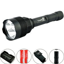 Trustfire 3800LM CREE XM-L2 LED Táctica ON/OFF 18650 Linterna Torch + Batería