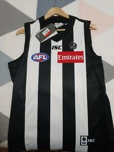 2019 Collingwood ISC home Guernsey large brand new