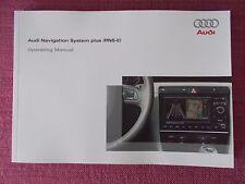 AUDI Sat Nav Sistema di navigazione plus (RNS-E) MANUALE A3 A4 TT S3 S4 (ACQ 5481)