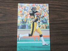 2002 John Stallworth Goal Line Art Card Pittsburgh Steelers