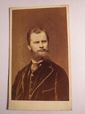 Bruxelles-hombre con barba-Portrait/CDV