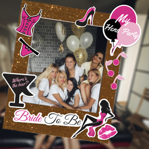 Photo Booth Frame Props 3mm PVC Frame Birthday wedding Add on Personalised Props