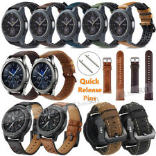 22mm 20mm Various Leather Wristband Bracelet For Fossil Q Smart Watch Band Strap