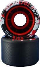 VNLA Backspin Remix Lite Black Skate Wheels - 62mm X 42mm 92A - Set of 8