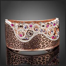 S9 Made Using Swarovski Crystals The Freda Animal Print Bracelet $165