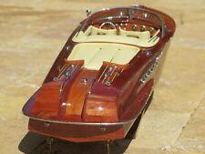 Holzmodellboot nach Design RIVA AQUARAMA Mahagonilook auch Unterwasser  RC mögl