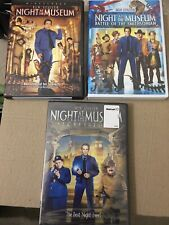 Night at the Museum 1, 2  and 3 DVD Trilogy, 3 Movies NEW
