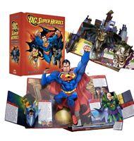 DC Super Heroes Pop Up Book, Matthew Reinhart, First Edition Brand New Original