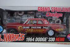 1:18 Highway 61 Supercar Collection MR.NORMS 1964 Dodge 330 HEMI GRAND SPAULDING