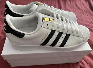 Adidas Originals Men's Superstar Sneaker - White/Black/White NEW US Size 11