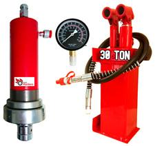 30T Hydraulik Pumpe Hydraulikzylinder Manometer Werkstattpresse Zylinder Presse