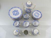China Blau * - Oscar Schaller - Kaffeeservice Teeservice - Einzelteile, ca. 1930
