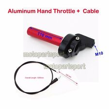 1/4 Turn Handle Throttle Cable For Suzuki DR100 DR125 DR200 Pit Dirt Trail Bike