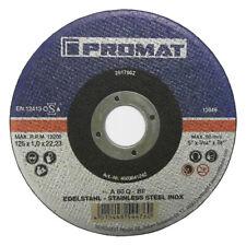 Promat 25x Trennscheibe INOX 125 x 1 mm Edelstahl Metall