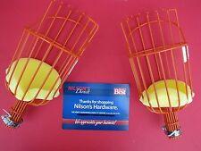 Fresh Fruit Picker Basket Vinyl Orange Apple Plum Pear fits Broom Pole Stick 2pk