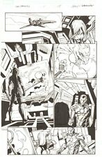 Fear Itself: The Fearless #1 p.15 - Valkyrie & War Machine - 2011 by Mark Bagley