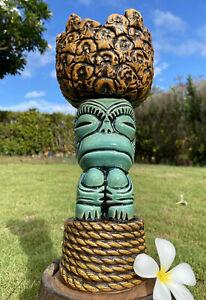 Custom Funky Monkey Pineapple Chalice Mug By TikiPop / Beachbumz Made on Maui