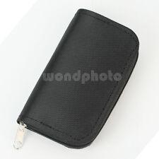 Portable Bolsa Estuche Organizador para 22 Tarjetas Memoria SD SDHC MMC CF DS