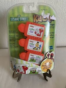 SESAME STREET 3 Kid Clips I LOVE TRASH Plus 2 Hard to Find Songs  – RARE - NEW