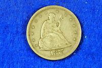 Estate  Find 1875  -  S Seated Liberty Twenty Cent Piece!!! #G7114