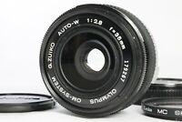 Near Mint OLYMPUS OM-SYSTEM G.Zuiko Auto-W 35mm f2.8 Manual Lens from Japan