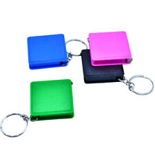 Easy Keychain Retractable Ruler Tape Measure Small Portable Pull Ruler 1pc