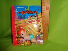 Vintage Wind Up Toy Figurine The Flintstones Pebbles Hanna Barberra poseable New