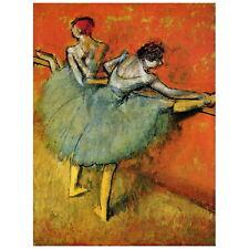 Edgar Degas, Dancers at the Bar Deco FRIDGE MAGNET, 1888 Fine Art Repro Gift