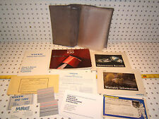 Volvo 1994 850 Owners's OEM 1 set of 11 Manuals/ Papers Volvo Gray 1 Pouch
