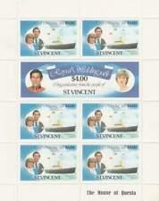 St. Vincent postfris 1981 MNH sheet 608-610 - Royal Wedding Diana (XB1119)