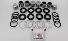 FRONT Brake Caliper Repair Kit +Pistons for MAZDA RX-7 1985-1991 (BRKP258)