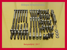 KAWASAKI zr-7/zr7/zr750-v2a Viti Viti in Acciaio Inox Viti Motore