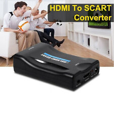 Scart zu auf HDMI Konverter Wandler AV Scaler Converter Adapter 1080P HD TV WCHY