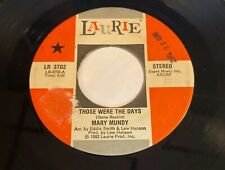Mary Mundy: Those Were The Days / Love Is Gone 45 - Modern Soul Disco