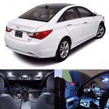 LED White Lights Interior License Package Kit For Hyundai Sonata 2011+